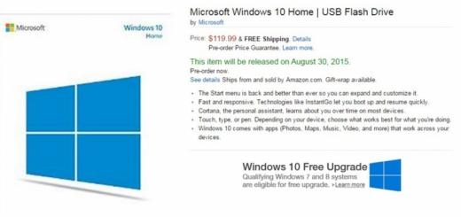 ویندوز 10 از طریق درایوهای USB عرضه میشود