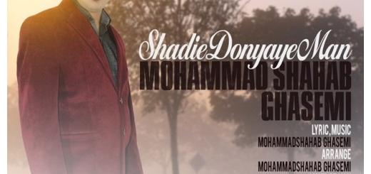 دانلود آهنگ جدید محمد شهاب قاسمی بنام شادی دنیای من