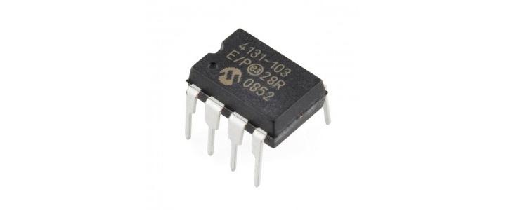 MCP4131 پتاسیومتر دیجیتال با کنترل spi