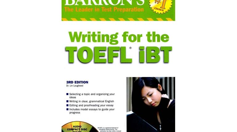 دانلود کتاب Barron's Writing for TOEFL iBT با فایل صوتی