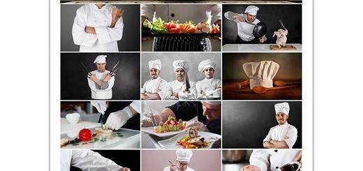 دانلود تصاویر با کیفیت سرآشپز، مواد غذایی، غذای آماده