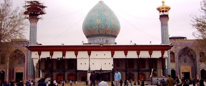 نسیم روضه شیراز پیک راهت بس...