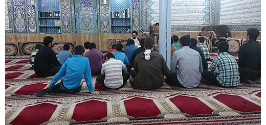 اولین دیدار اعضای جلسات با امام جماعت مسجد 24 اسفند 93