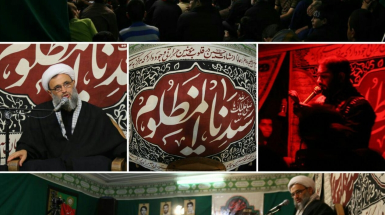 گزارش تصویری آخرین شب از مراسم دهه دوم #محرم