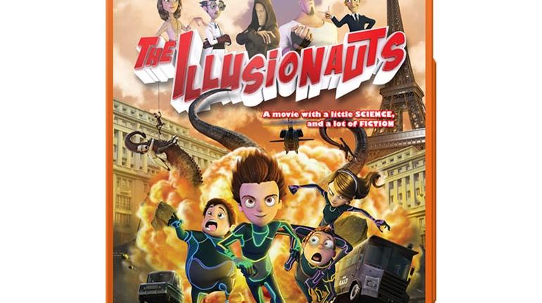 دانلود انیمیشن سفر در زمان با دوبله فارسی The Illusionauts 2012