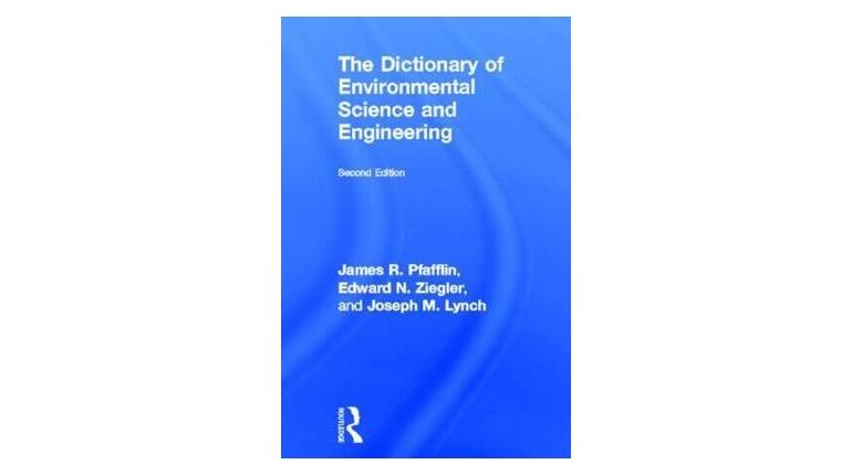دانلود دیکشنری مهندسی محیط زیست A Dictionary of Environmental Science and Engineering
