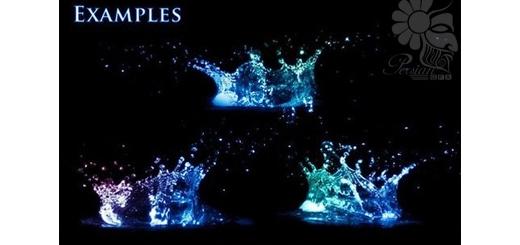 دانلود 38 براش فتوشاپ پاشیدن آب