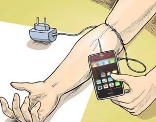 پاورپوینت اعتیاد به تلفن همراه و درمان آن