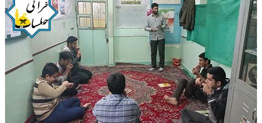 مسابقه باد کردن بادکنک به مناسبت دهه فجر ۲۰ بهمن ۹۴