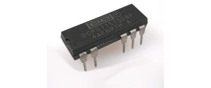 مبدل dc به dc برای ۵ ولت به ۵+ و ۵- ولت با DCP010505DB