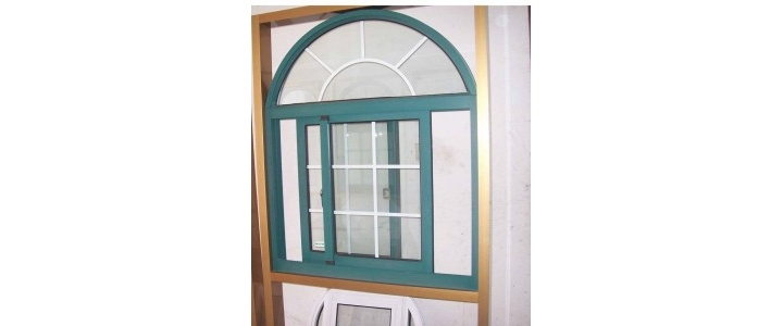 در و پنجره دوجداره قوس دار