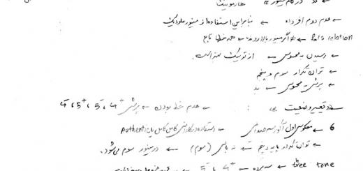 جزوه هارمونی پراتیک . نیما فریدونی . مدرس علی رادمان