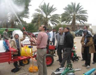 نمایشگاه ادوات و ماشینهای باغبانی در جویم