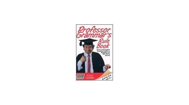 50 دستور ضروری گرامر Professor Grammar's Rule Book