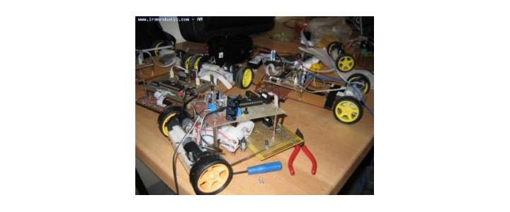 چگونه یک روبات مسیر یاب بسازیم؟