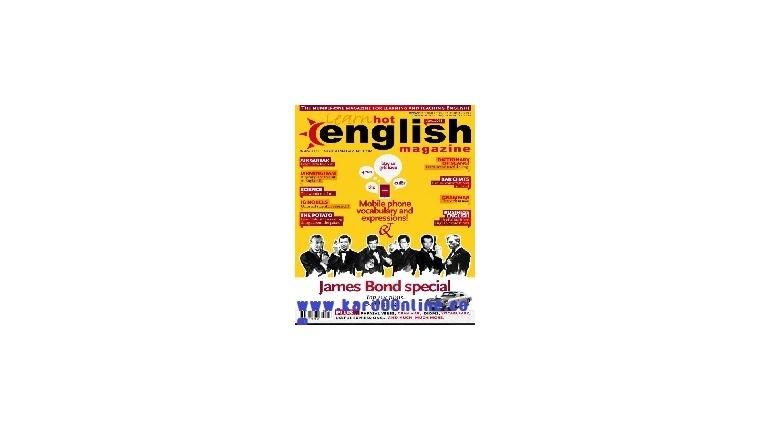 دانلود مجله آموزش انگلیسیHot English Magazine No.137