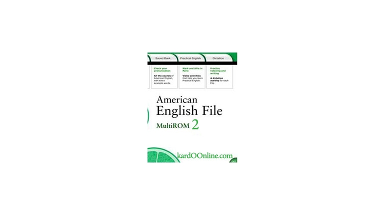 دانلود نرم افزار American English File 2 Multi-Rom