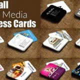 دانلود 10 قالب لایه باز کارت ویزیت کوچک
