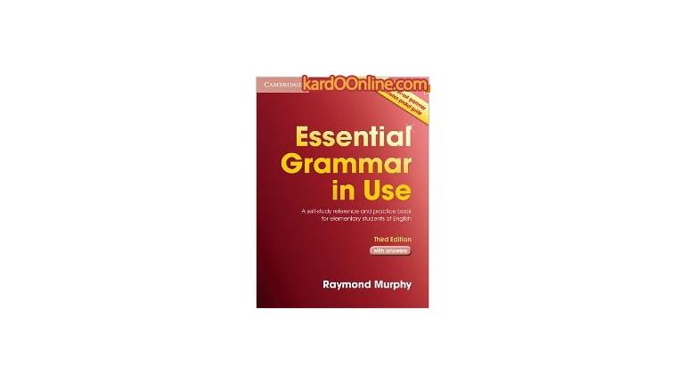 دانلود کتاب آموزش گرامر Essential Grammar in Use 3rd Edition
