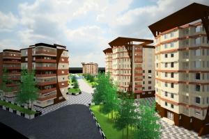 » :: دانلود پروژه کامل طرح معماری مجتمع مسکونی  !