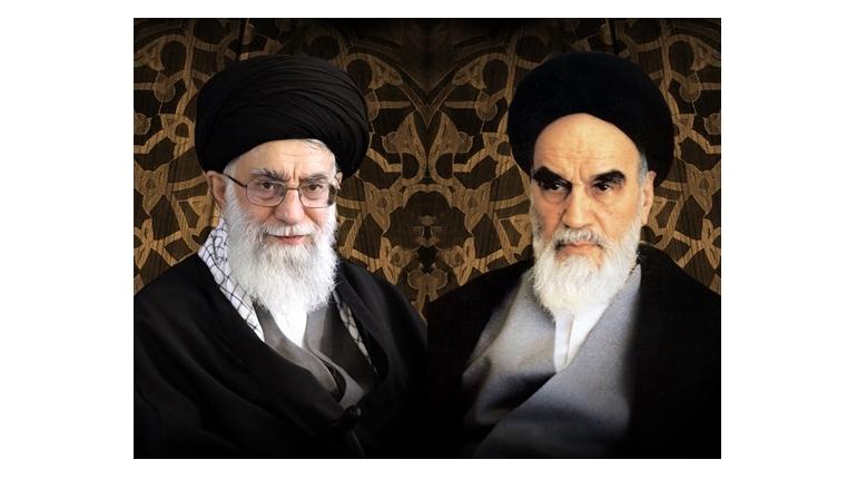 تصویر با کیفیت از حضرت امام خمینی (ره) و مقام معظم رهبری جهت استفاده در مسجد