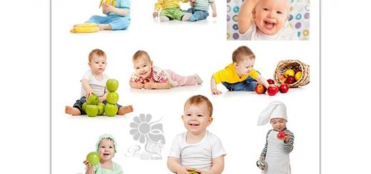 دانلود تصاویر با کیفیت کودکان خوشحال هنگام غذا خوردن