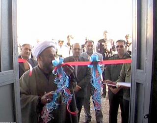 افتتاح حسینیه خیر ساز در منطقه جویم