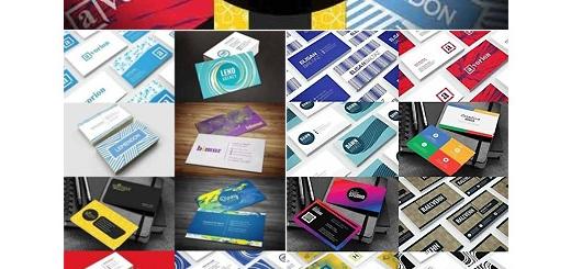 دانلود 20 قالب لایه باز کارت ویزیت با طرح های متنوع