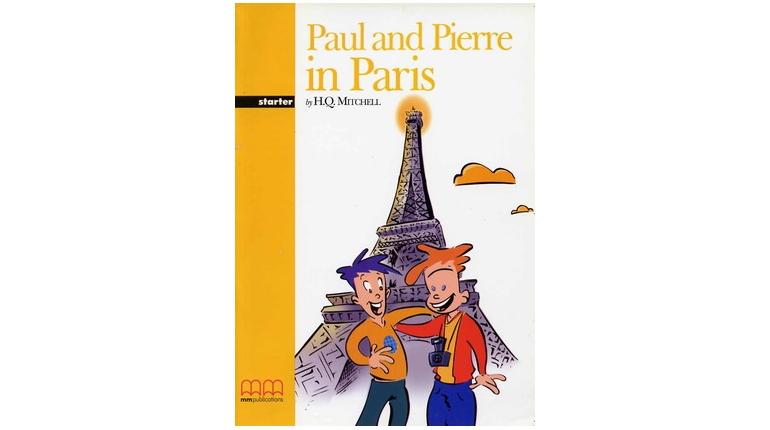 دانلود کتاب داستان Paul and Pierre in Paris با فایل صوتی - سطح آغازین Starter