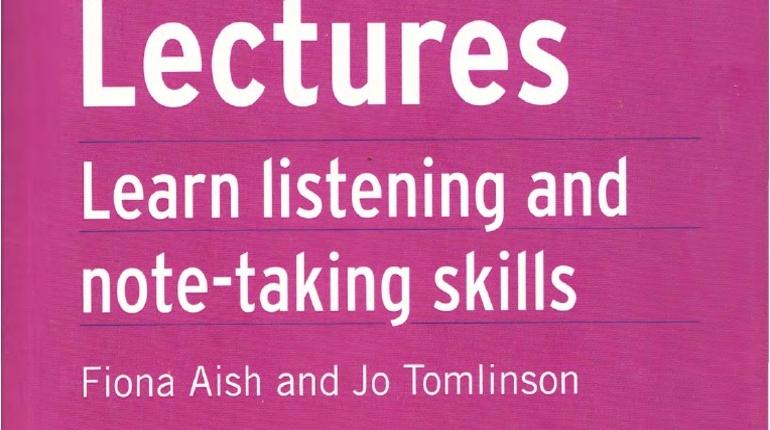 تقویت مهارت Listening و نت برداری در زبان انگلیسی Lectures