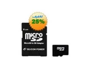 خرید مموری کارت سیلیکون پاور/Silicon Power class4 8GB