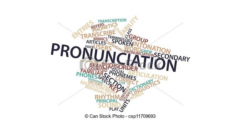 آموزش تلفظ : حروف صامت در ادای بعضی کلمات