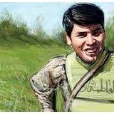 شهید مدافع حرم رضابخشی