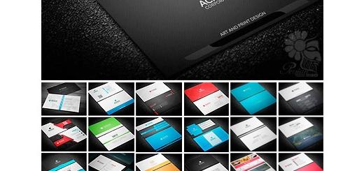 دانلود 150 تصویر لایه باز کارت ویزیت متنوع