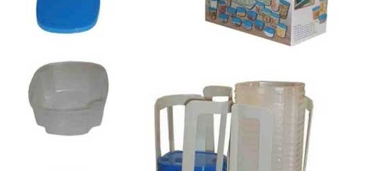 خرید آنلاین ظروف نانو 49 تیکه جدید اسپین ان استور Spin N Store