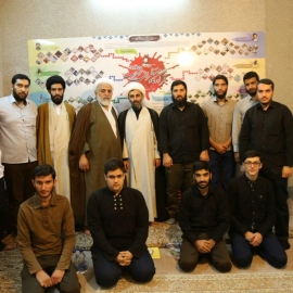بازدید حجت الاسلام و المسلمین استاد تقی قرائتی از مجموعه قرارگاه منتظران شهادت