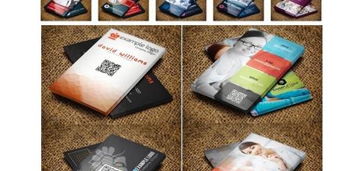 دانلود 16 قالب لایه باز کارت ویزیت های متنوع