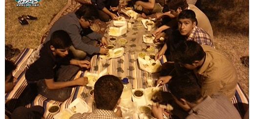 صرف افطاری روز هفتم ماه مبارک رمضان 3 تیر 94