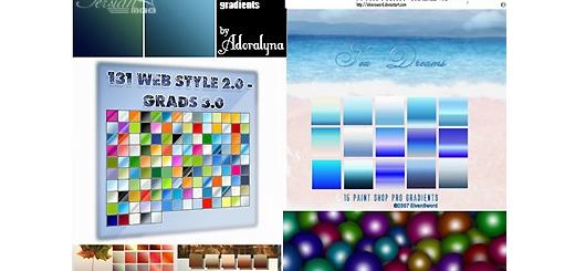 دانلود مجموعه ی زیبا از گرادینت های فتوشاپ - 10000 Photoshop Gradient Collection