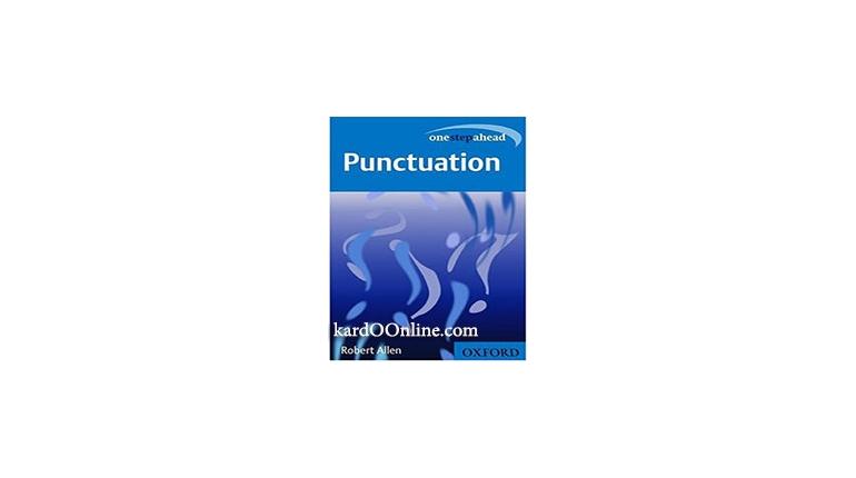 دانلود کتاب نشانه گذاری : یک قدم به جلو (Punctuation (One Step Ahead