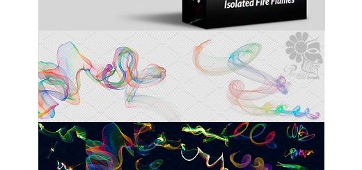 دانلود 50 تصویر کلیپ آرت تابش نورهای رنگی متنوع بدون پس زمینه