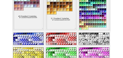 دانلود بیش از 5000 گرادینت فتوشاپ برای طراحی