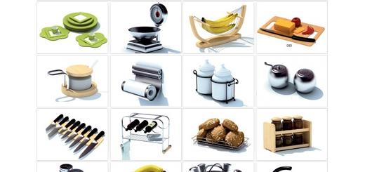 دانلود مدل های آماده سه بعدی آرچ مدل - المان ها، ابزار و لوازم آشپزخانه ... - شماره 18