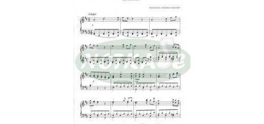 نت و اهنگ clarinet concerto in a k.622