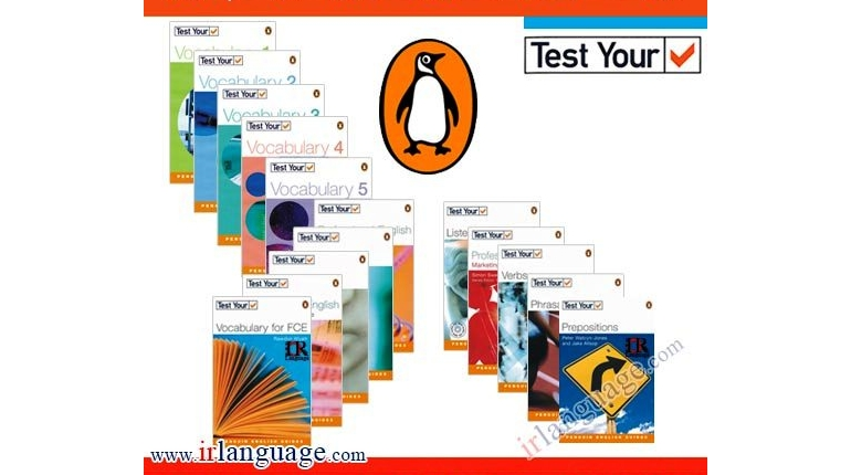 دانلود سری کتاب های تست Penguin English Guides Series