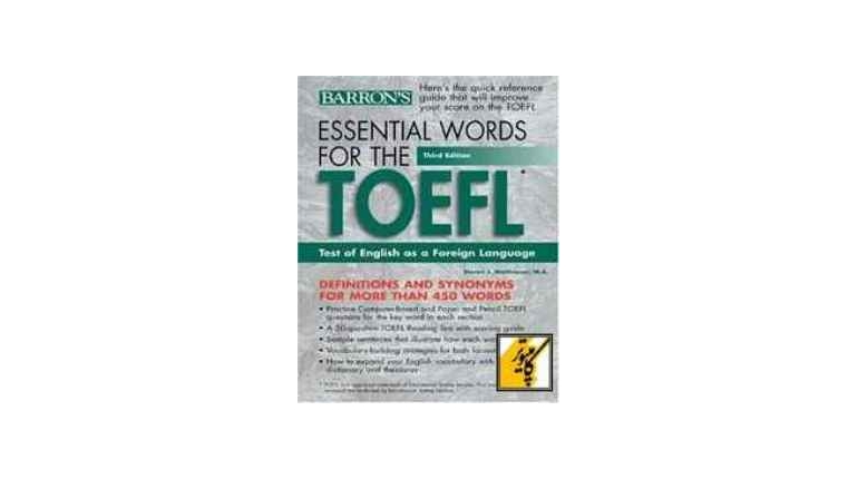 دانلود ویرایش سوم Essential Words for the TOEFL