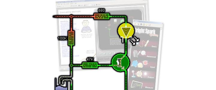 نرم افزارشبیه سازی مدارات الکترونیکی برایت اسپارک