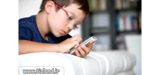 تهدیدات تلفن همراه برای کودک شما