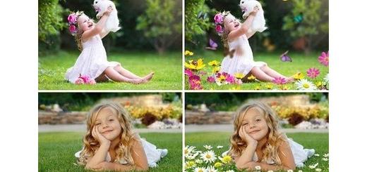 دانلود 25 تصویر کلیپ آرت گل و بوته