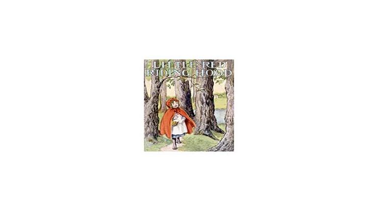 کتاب داستان تصویری انگلیسی شنل قرمزی (متن و صدا )